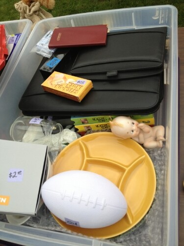 Bin of odd items