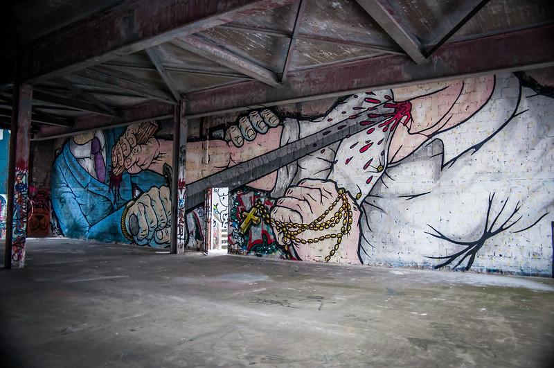 Teufelsberg Berlin Graffiti-3