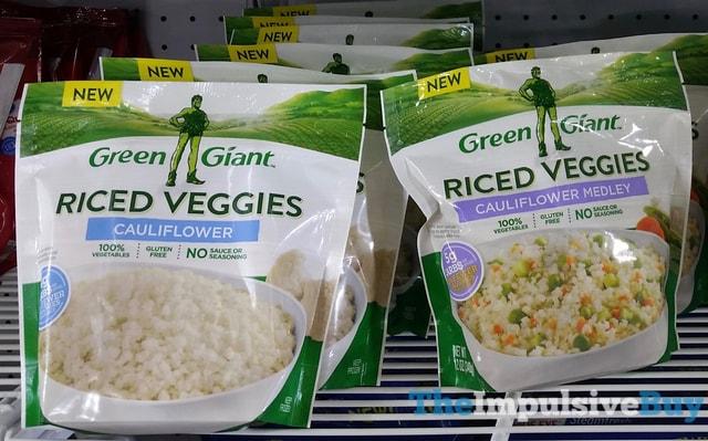 Green Giant Riced Veggies (Cauliflower and Cauliflower Medley)