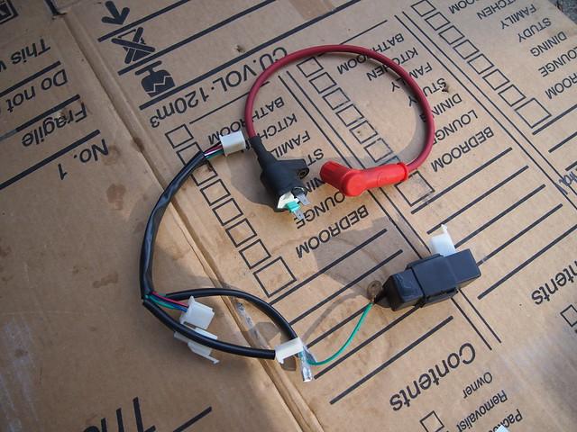 Postie bike conversion, lifan 125 help with wiring?