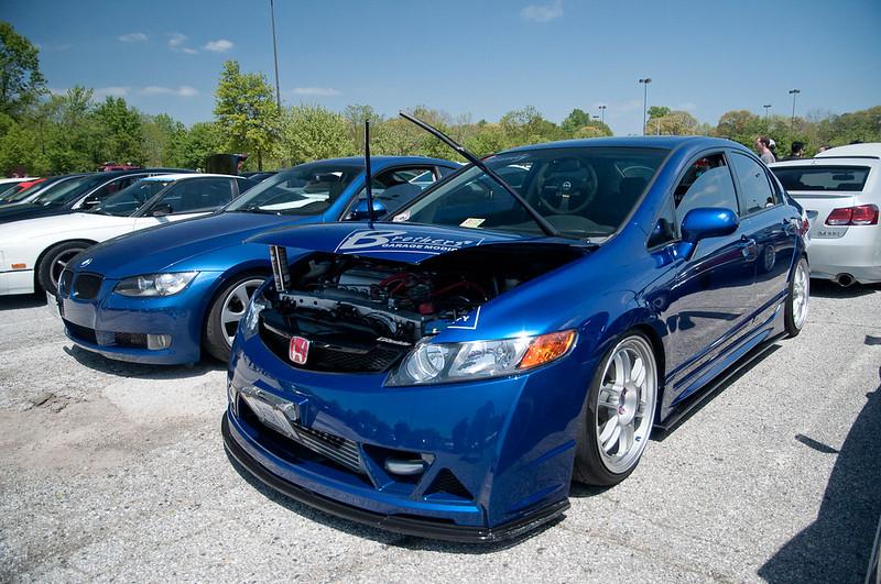 Blue Civic Si