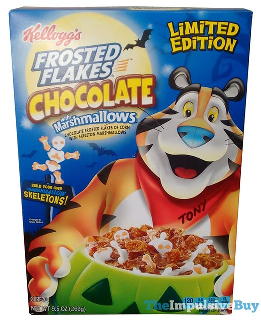 Kellogg's Limited Edition Chocolate Frosted Flakes with Marshmallows