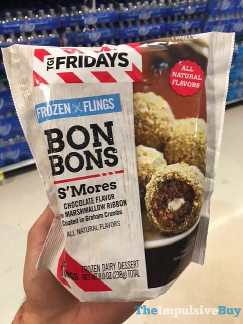 TGI Fridays Frozen Flings S'Mores Bon Bons