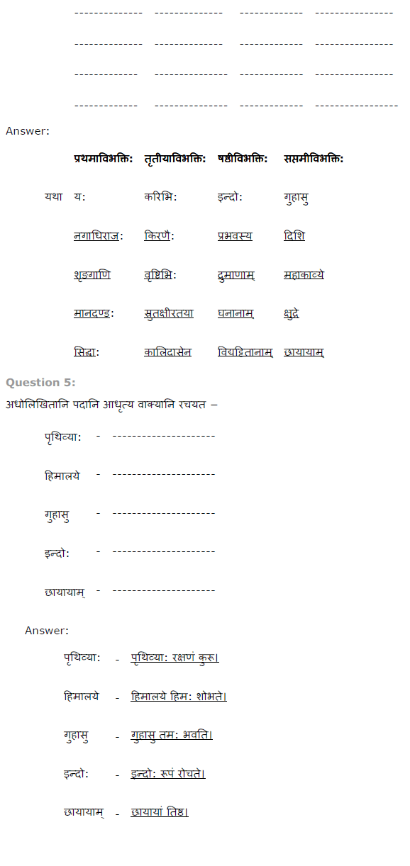 NCERT Solutions for Class 8th Sanskrit Chapter 13 हिमालय (संधि)