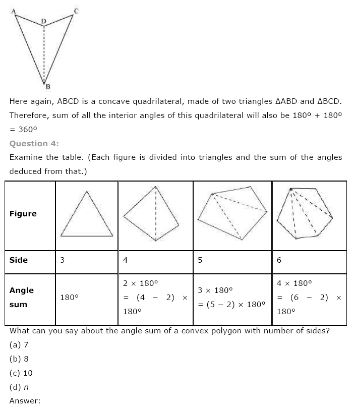 Class 8th NCERT Maths Solutions