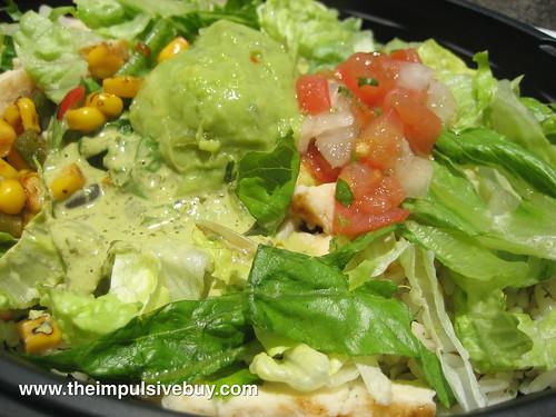 Taco Bell Cantina Bowl Closeup