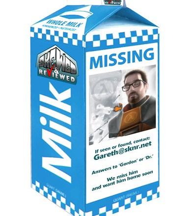 SKNR Milk Carton