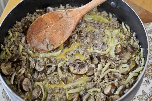 Tortellini with Italian Sausage, Fennel, and Mushroom 11
