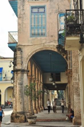 Columnatas de los edifcios