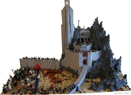 The Hornburg at Helm's Deep