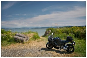 Riding near Lummi