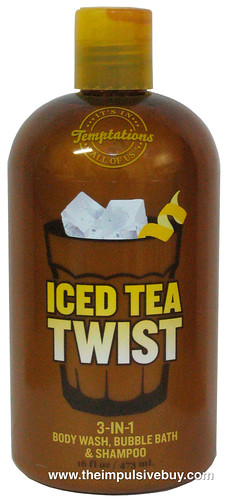 Bath & Body Works Temptations Iced Tea Twist