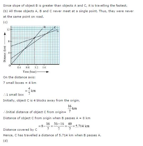 NCERT Solutions for Class 9th Science: Chapter 8 Motion