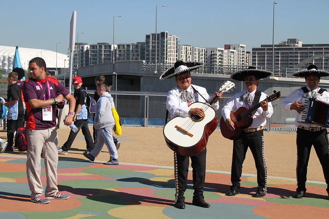 Olympic Park musicians