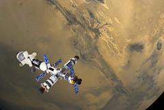 "Earth-Mars Cycler ""Aldrin"" (4)"