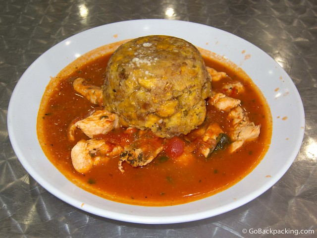 Mofongo at Jimmy'z Kitchen