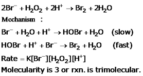 CBSE Class 12 Chemistry Notes: Chemical Kinetics   Molecularity of Reaction