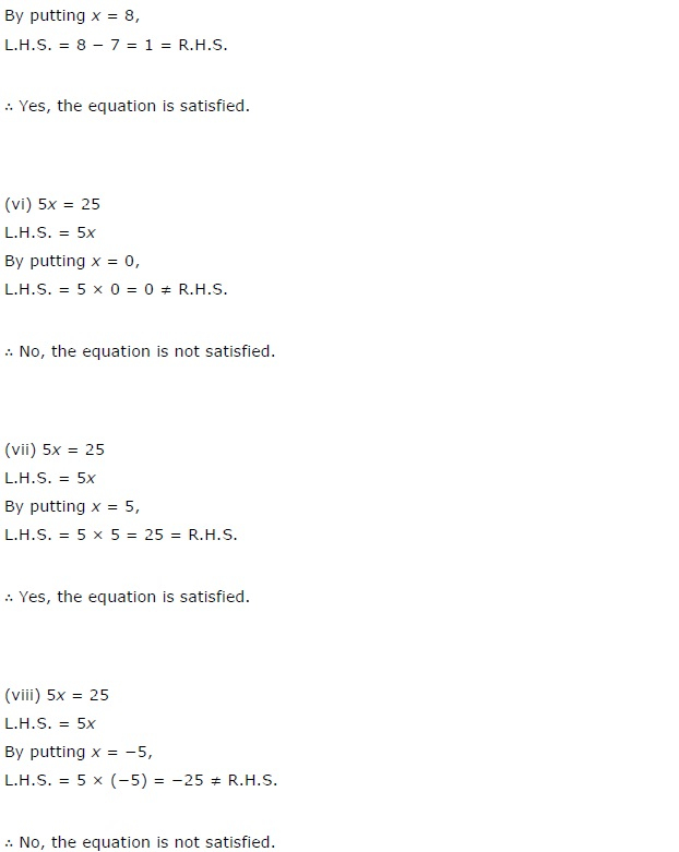 NCERT Solutions For Class 7th Maths Chapter 4 : All Q&A