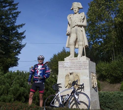 Napoleon at Col des Echarmeaux