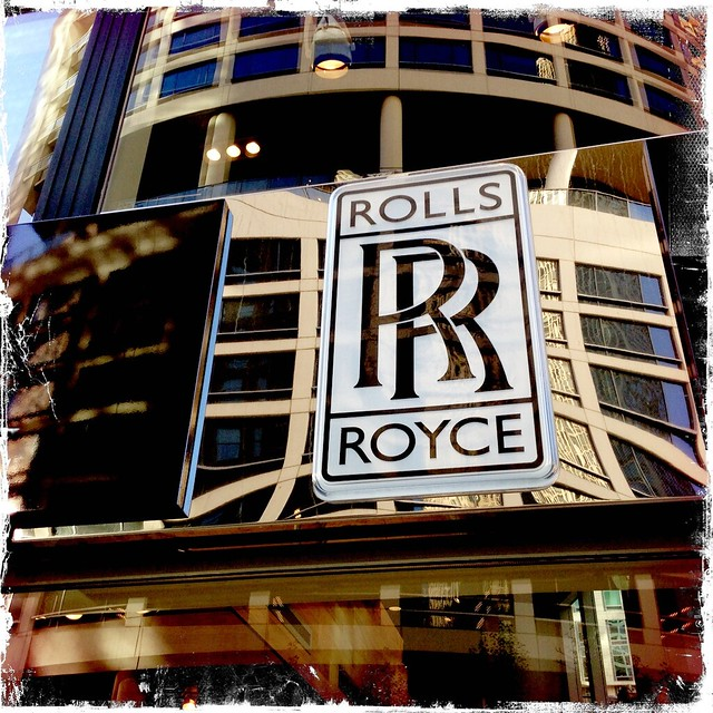 Rolls Royce dealer, Chicago