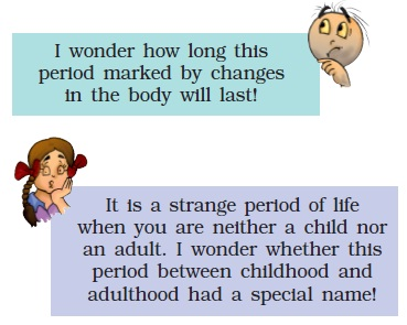NCERT Class VIII Science Chapter 10 Reaching the age of Adolscence
