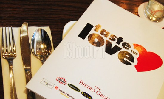 The Bistro Group invites everyone to Taste the Love.