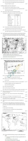 CBSE Board Exam 2013 Class 12 Sample Question Paper for Geography Image by AglaSem
