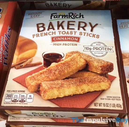 Farm Rich Bakery Cinnamon French Toast Sticks