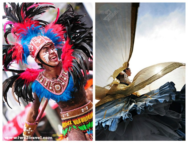 Dinagyang Festival, Iloilo City; Panagbenga Festival, Baguio City Philippines | Two2Travel