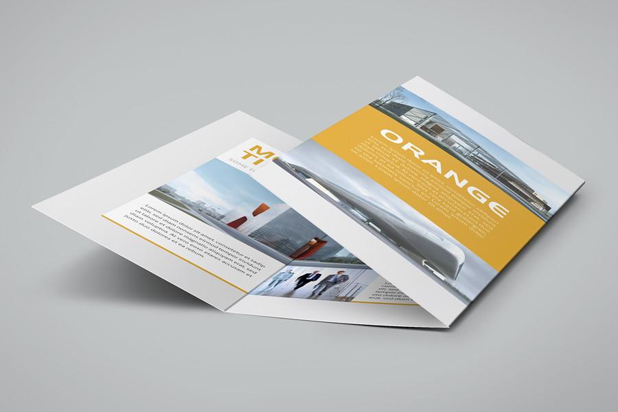 Modern tri fold flyer A clear and professionally tri fold \u2026 Flickr