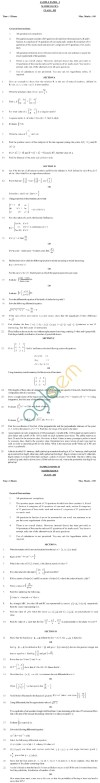 CBSE Board Exam 2013 Class 12 Sample Question Paper for Maths Image by AglaSem
