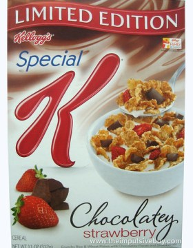 Kellogg's Limited Edition Special K Chocolatey Strawberry