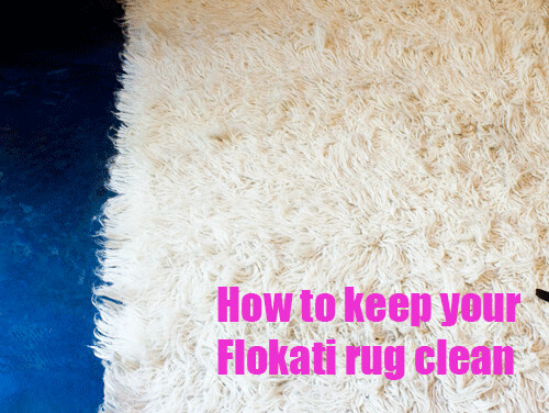 Flokati Rug Cleaning