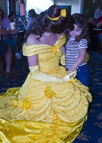 meeting princess belle