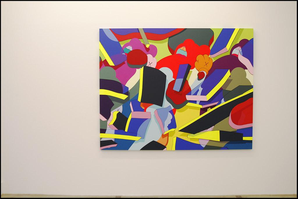 "Tuukka13 - KAWS Exhibition ""Imaginary Friends"" at Galerie Perrotin, Paris - 12.2012 - 3"