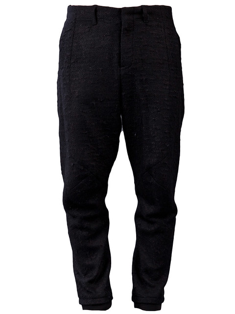 JULIUS MA  $769.00       STYLE NO. 400PAM4 BLK   From Julius Ma, this tapered wide-leg trouser in blac
