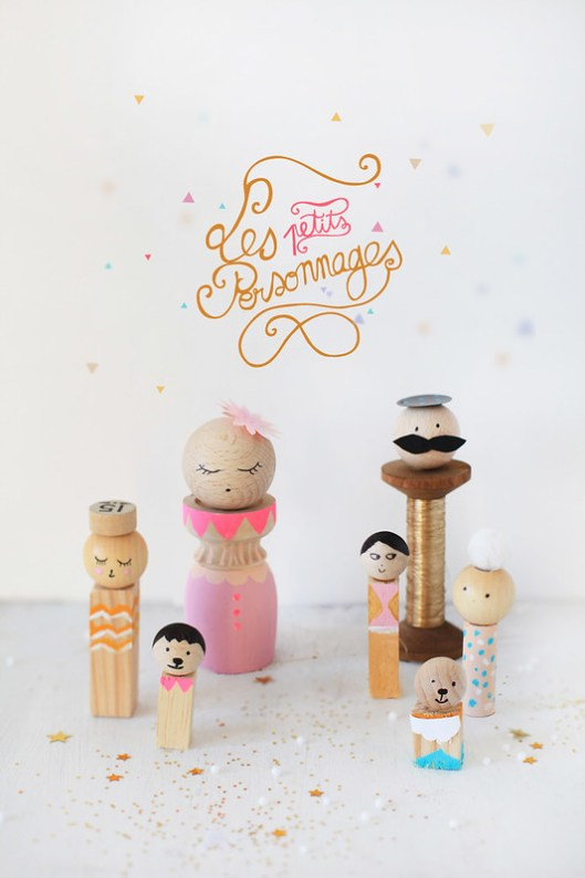 Book Love & DIY Project: Mes petites Kokeshi