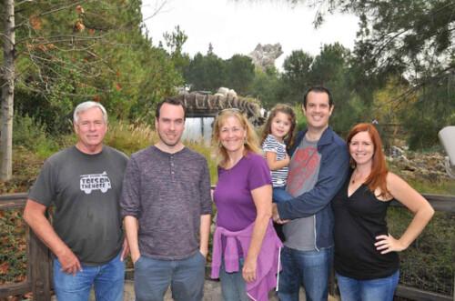 family at ca adventure