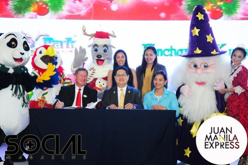 Ocean Park & Enchanted Kingdom Fun Deal MOA signed between Ocean Park Corporation and Enchanted Kingdom, Inc.