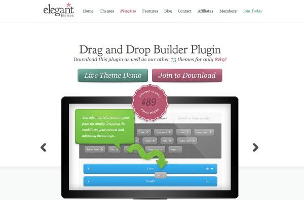 Elegant Drag & Drop Builder