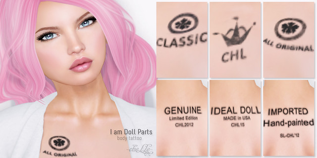 cheLLe - I am Doll Parts