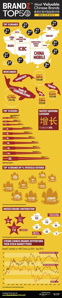 WPP BrandZ Infographic China 2013