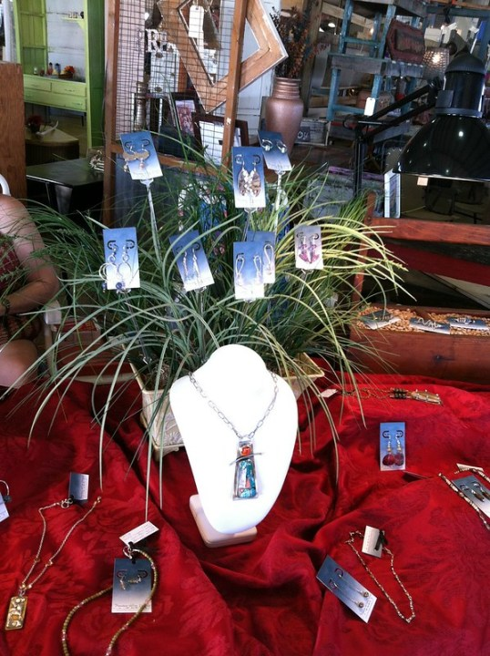 Francesca Watson Designs at the Rusted Gingham Barn Sale 2012