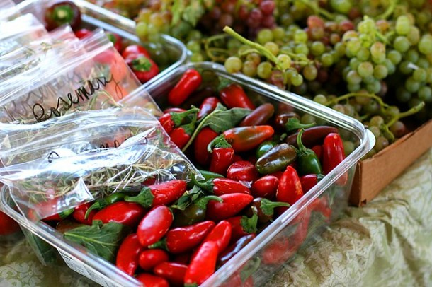 New Mexico Farmers Market - Hot chiles
