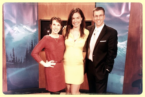 My last day working with @jennihogan as she sets out on her new adventure! (W/ @michellemillman)