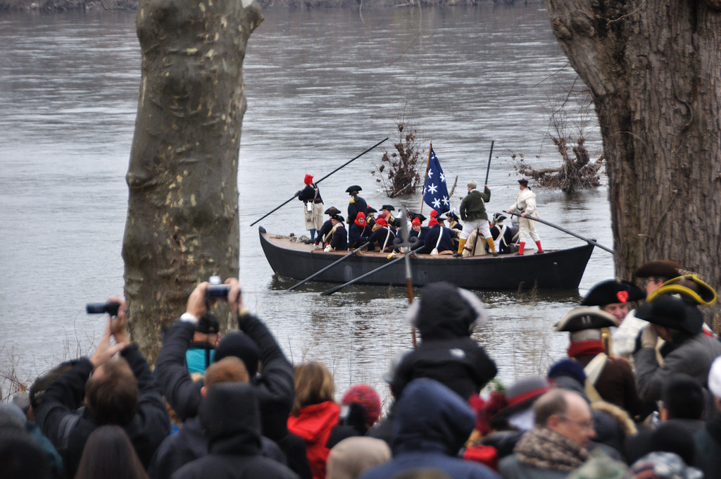 Washington crossing the Delaware Each Christmas, there is \u2026 Flickr