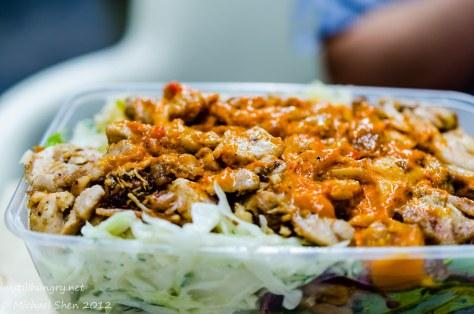 Via Abercrombie chicken salad