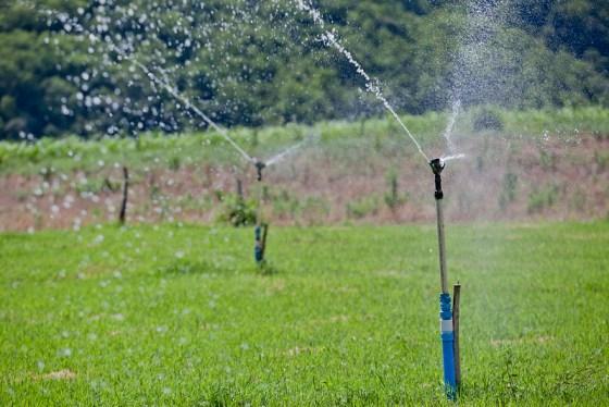Propriedade em Taquaruçu do Sul (RS) de agricultores familiares beneficiada por programas locais de irrigação