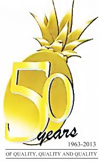 dolefil 50th logo
