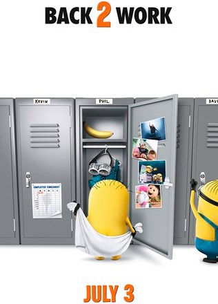 DESPICABLE ME 2 - Back2Work Poster